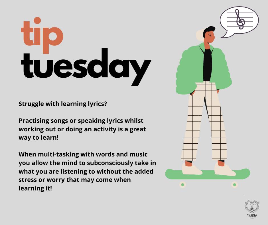 tip tuesday multi - tasking